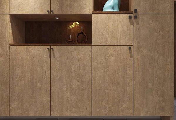 I.DECOR dankovbirch walnut decorative paper supplier for building