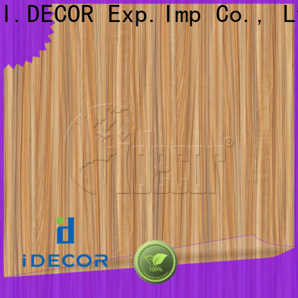 I.DECOR fake wood paper directly sale for guest room