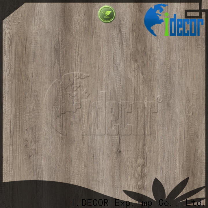 I.DECOR professional printable wood grain paper from China for guest room
