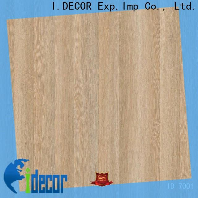 I.DECOR oak black melamine sheets design for building