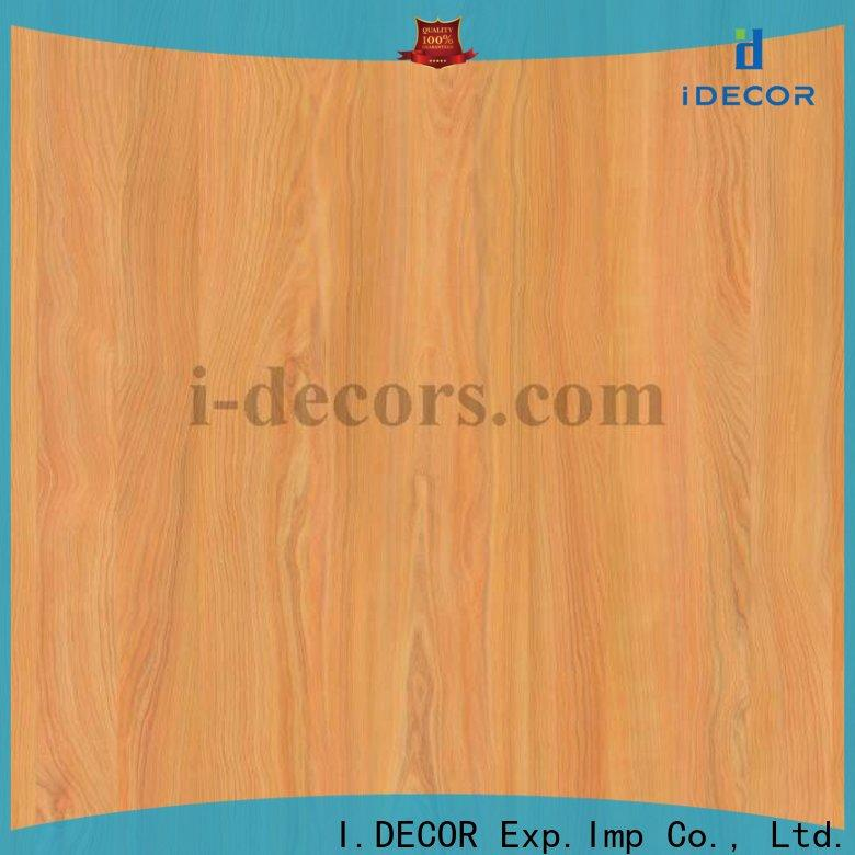 I.DECOR flower covering wood furniture with paper wholesale for Villa