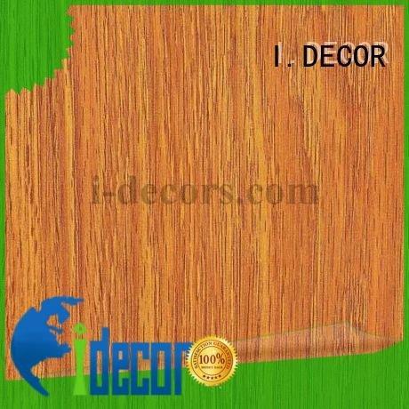 Quality wood wall covering I.DECOR Brand id7024 fine decorative paper