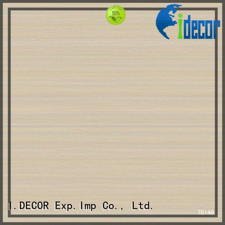 I.DECOR 1860mm decor paper for laminates factory price for gallery