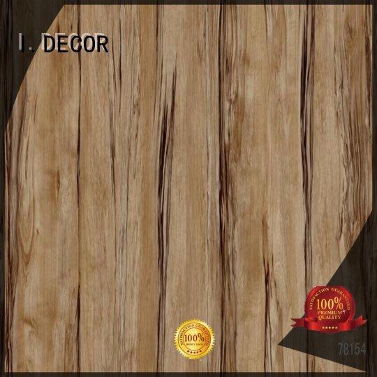 I.DECOR Brand concrete printing oak custom wall decoration with paper