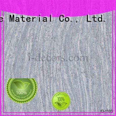 Quality original design I.DECOR Decorative Material Brand id1208 marble laminate paper