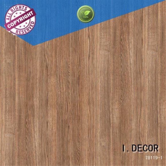 I.DECOR decor paper width teak available concrete