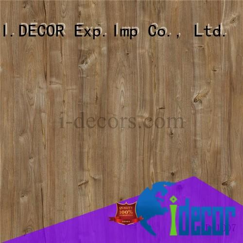 ID1007 walnut decor paper 4 feet with imported ink