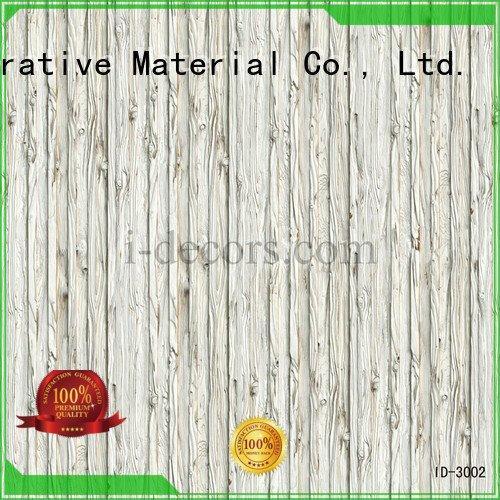 Wholesale paper oak walnut melamine I.DECOR Decorative Material Brand