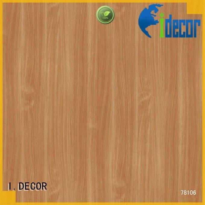 Custom idecor decor paper oak wall decoration with paper