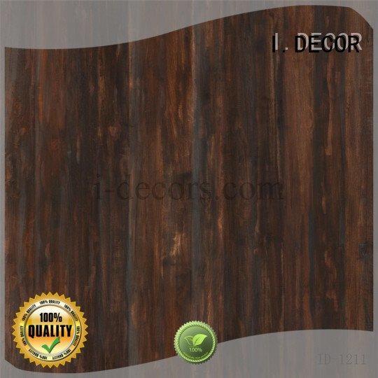 Quality decorative paper sheets I.DECOR Brand feet laminate melamine