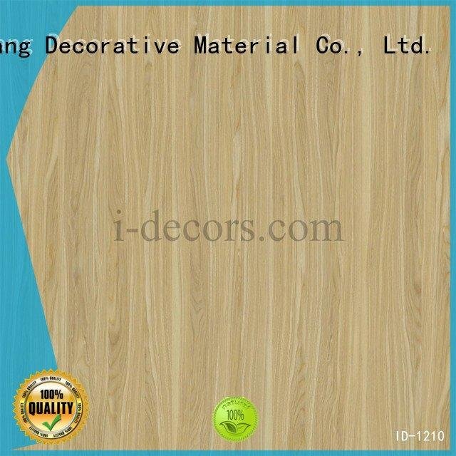 original design imported id1206 marble laminate paper I.DECOR Decorative Material Brand