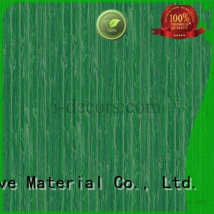 Custom walnut melamine fabric oak id3002 I.DECOR Decorative Material