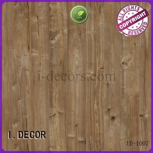 imported walnut laminate melamine decor I.DECOR company