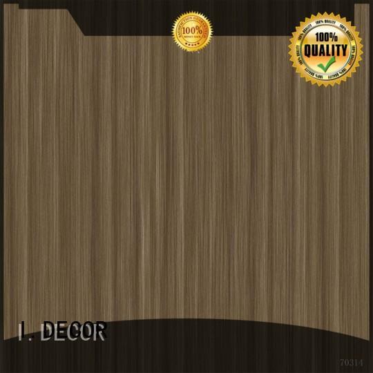 I.DECOR Brand concrete melamine ash wall decoration with paper fine