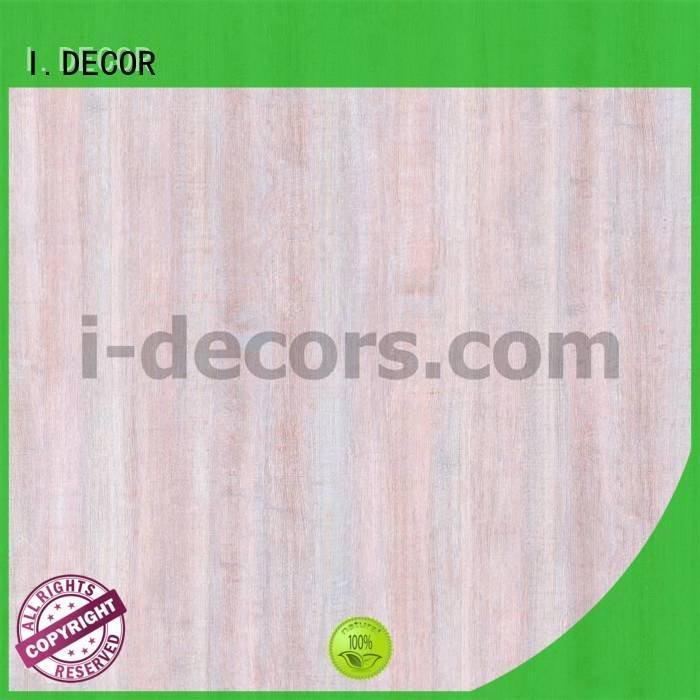 Custom melamine impregnated paper feet paper decor I.DECOR