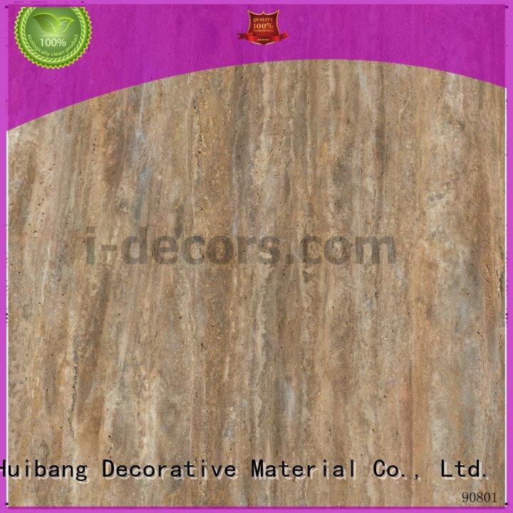 Quality interior wall building materials I.DECOR Decorative Material Brand 90776 flooring paper
