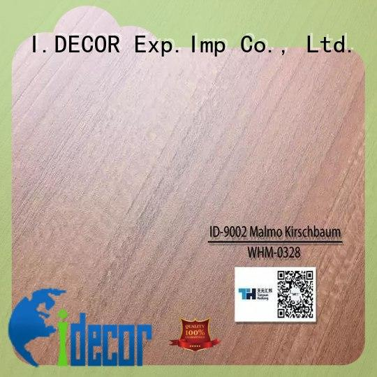 real resin impregnated paper directly sale for study room