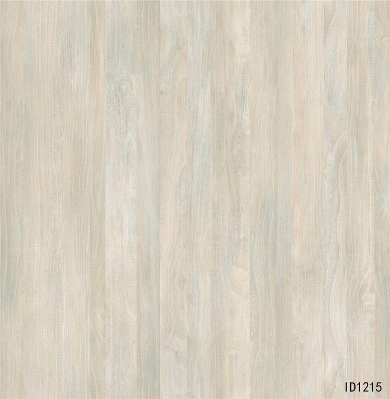 ID1215 Elm decor paper for melamine 4ft