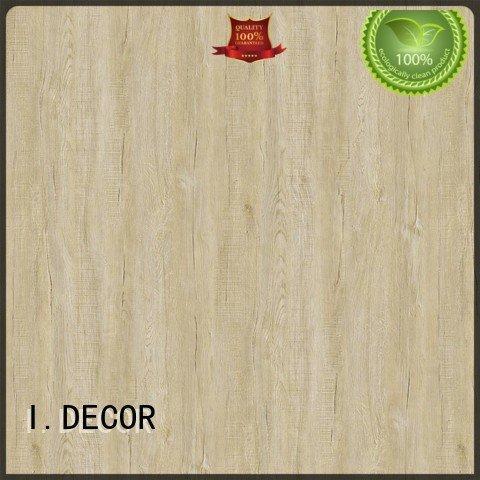 Quality resin impregnated paper I.DECOR Brand oak PU coated paper