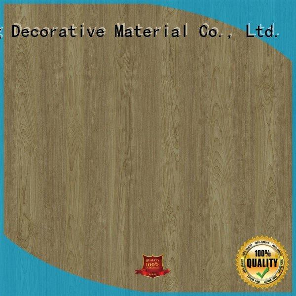 resin impregnated paper ash real PU coated paper I.DECOR Decorative Material Warranty