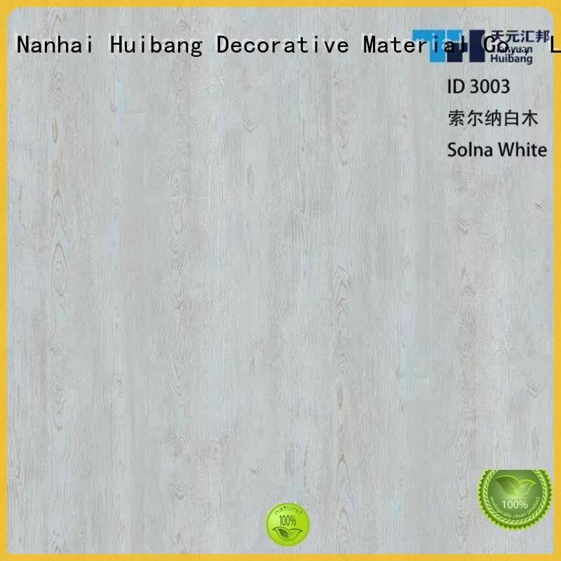 Quality resin impregnated paper I.DECOR Decorative Material Brand ink PU coated paper