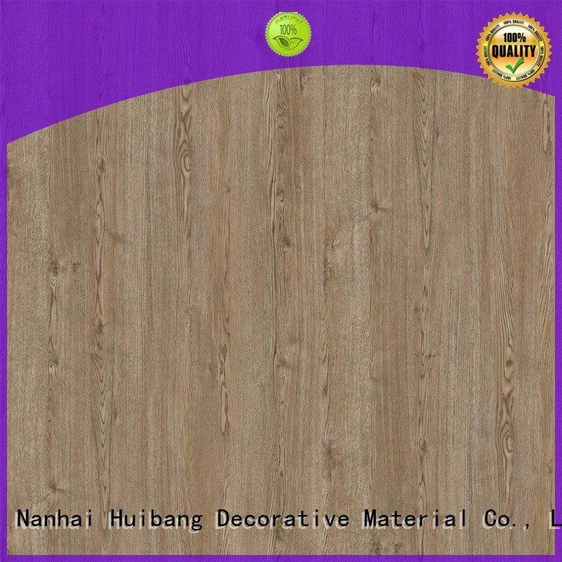 Custom decor PU coated paper id1216 resin impregnated paper