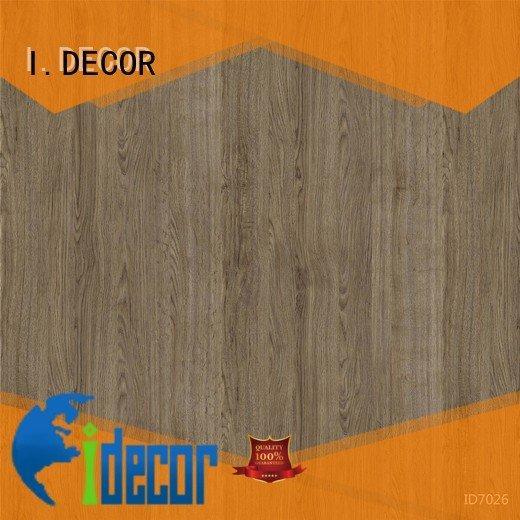 Quality resin impregnated paper I.DECOR Brand id1106 PU coated paper id703502 vineyard