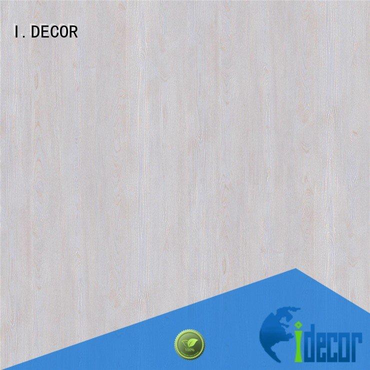 resin impregnated paper bay I.DECOR Brand PU coated paper