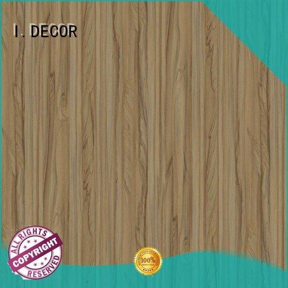 pau PU coated paper I.DECOR resin impregnated paper