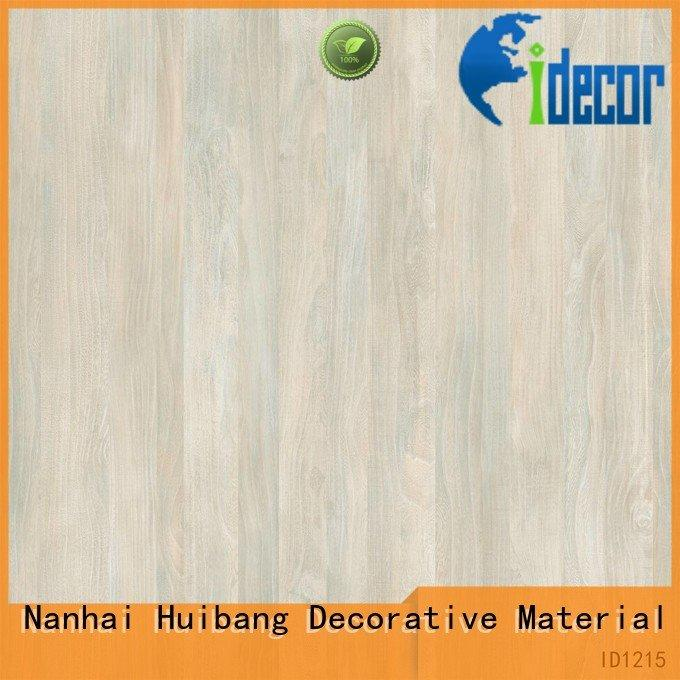 Quality resin impregnated paper I.DECOR Decorative Material Brand maple PU coated paper