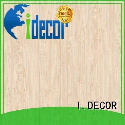arbor PU coated paper feet melamine I.DECOR