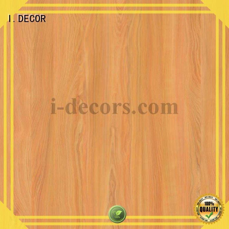 I.DECOR Brand white furniture melamine impregnated paper manufacture