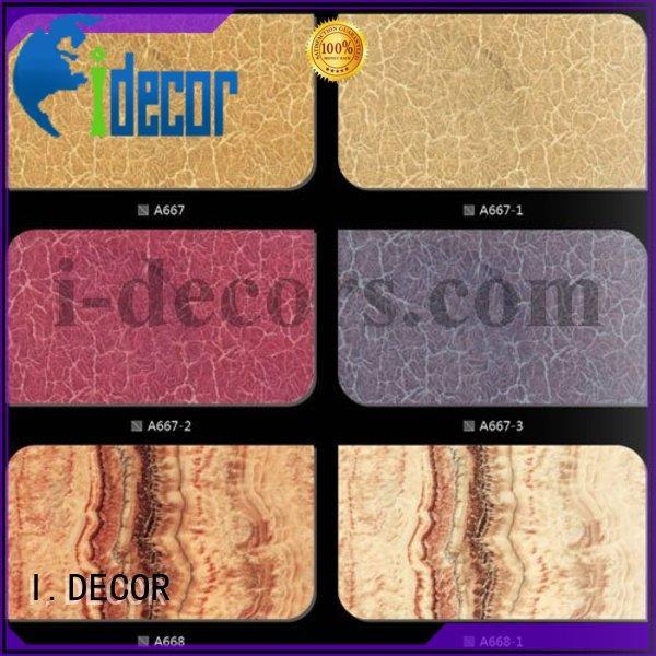 grain wood OEM finish foil paper I.DECOR