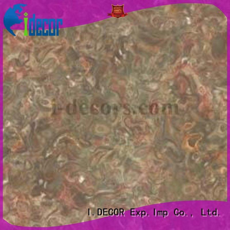 I.DECOR grain finish foil paper supplier for Villa