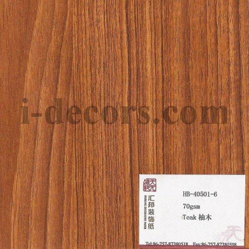 Wood Grain Finish Foil