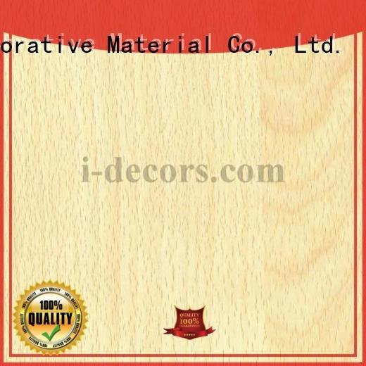 wood laminate sheets paper 78164 wood foil paper I.DECOR Decorative Material Warranty