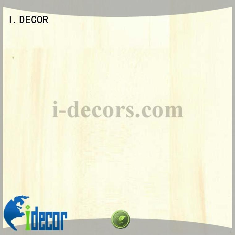 I.DECOR 40604 decorative paper PU coated paper maple