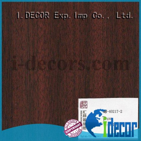 I.DECOR paper print finishing set for wall