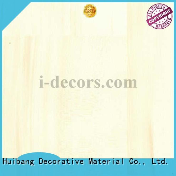 Quality PU coated paper I.DECOR Decorative Material Brand decorative wood grain paper