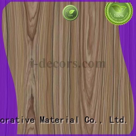 I.DECOR Decorative Material Brand 40401 40402 grain melamine sheets suppliers