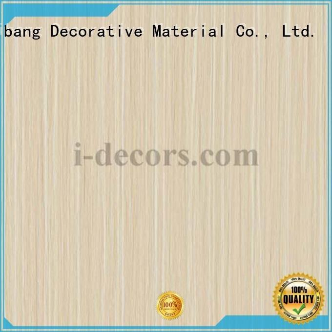 I.DECOR Decorative Material furniture laminate sheets paper teak grain
