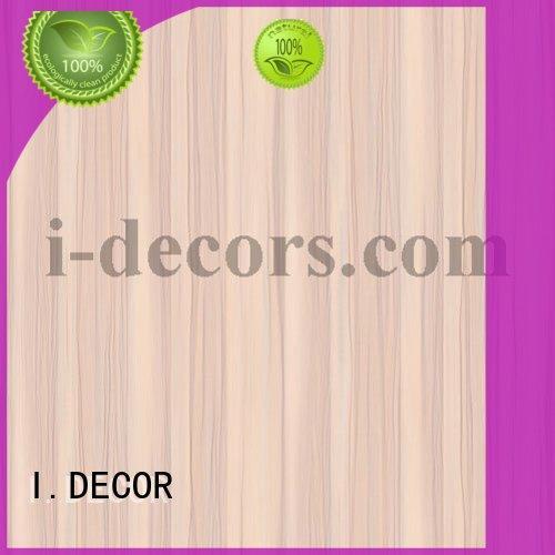 melamine Custom waterproof melamine decorative paper quality I.DECOR