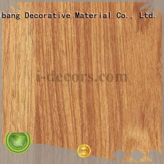 teak paper 40504 40530 I.DECOR Decorative Material melamine sale