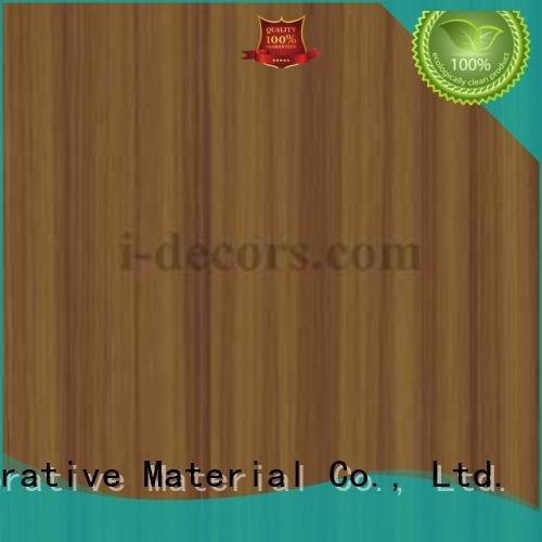 ice cylinder chestnut furniture I.DECOR Decorative Material melamine impregnated paper