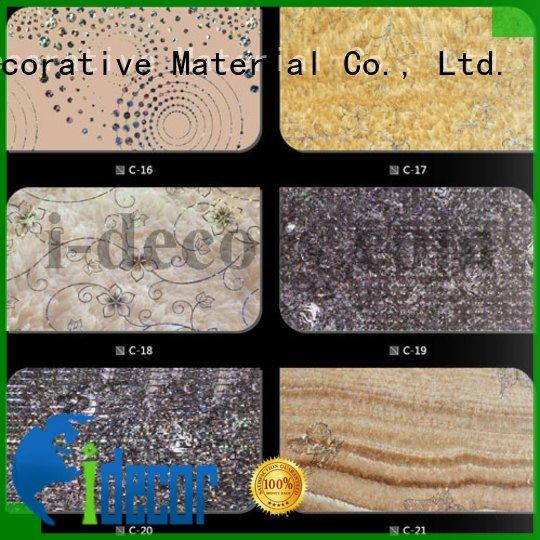 stone wood gold foil paper I.DECOR Decorative Material