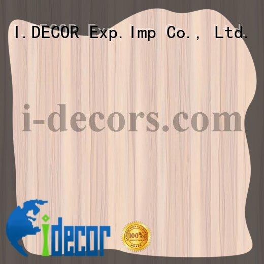 I.DECOR Modern melamine overlay paper factory price for house
