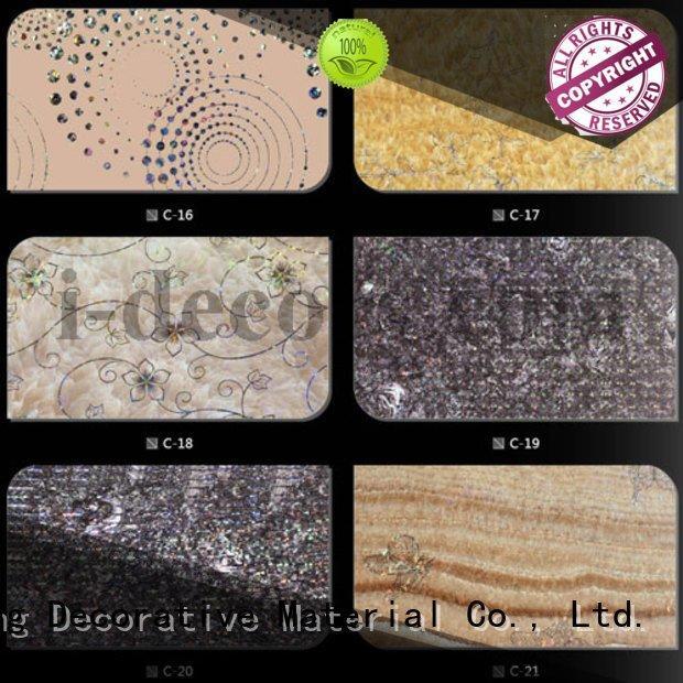 I.DECOR Decorative Material wood grain finish foil paper finish design
