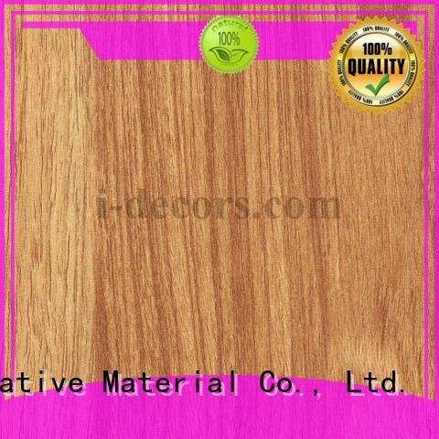 Wholesale grain teak melamine sale I.DECOR Decorative Material Brand