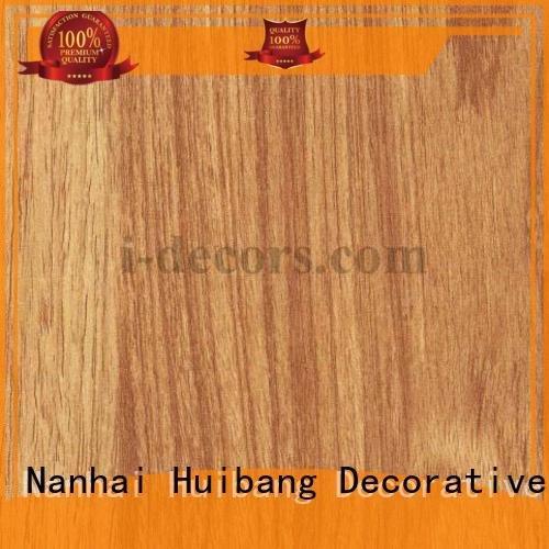 I.DECOR Decorative Material paper teak melamine sale 40501 grain