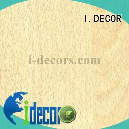 Hot high standard wood laminate sheets paper I.DECOR Brand